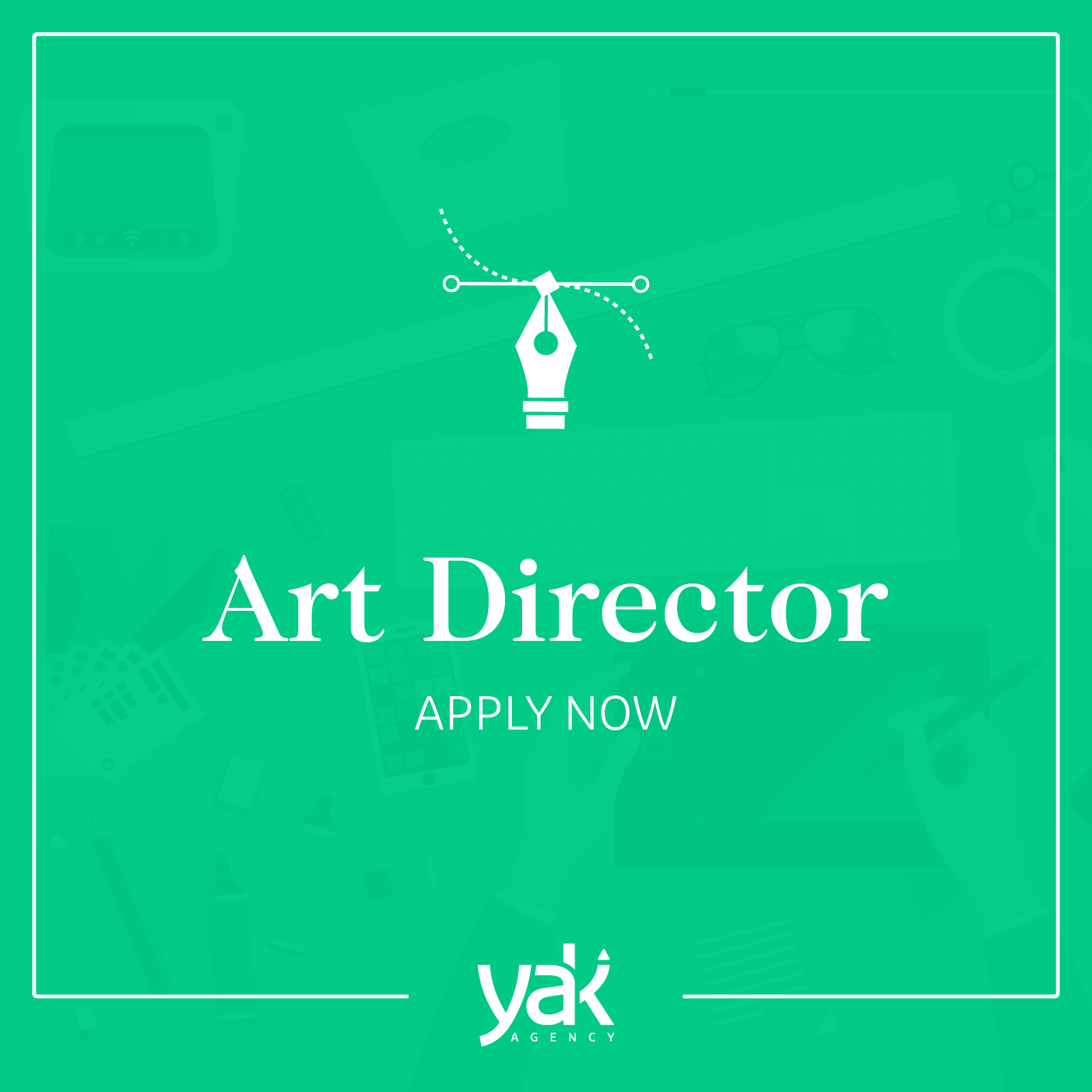Job opening yak agency hires an art director yak agency for Jobs art director koln